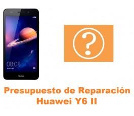 Presupuesto de reparación Huawei Y6 II