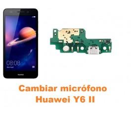 Cambiar micrófono Huawei Y6 II