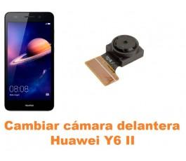 Cambiar cámara delantera Huawei Y6 II