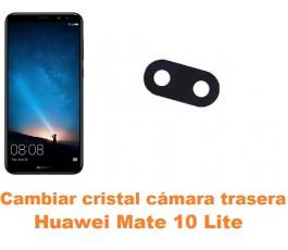Cambiar cristal cámara trasera Huawei Mate 10 Lite