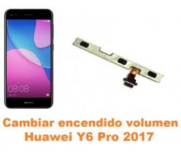 Cambiar encendido y volumen Huawei Y6 Pro 2017