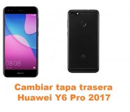 Cambiar tapa trasera Huawei Y6 Pro 2017
