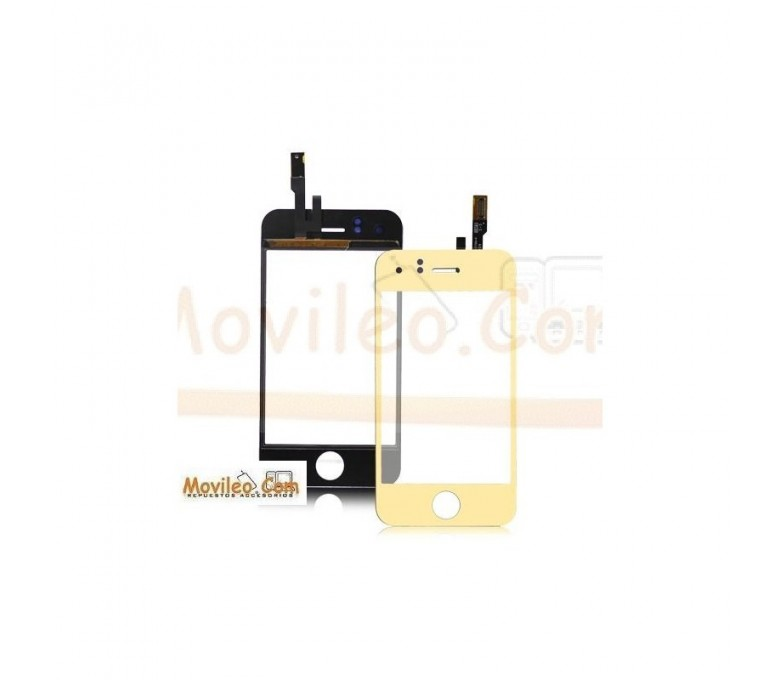 Pantalla táctil color oro para iPhone 3Gs - Imagen 1