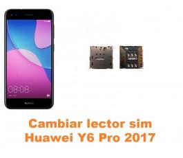 Cambiar lector sim Huawei Y6 Pro 2017
