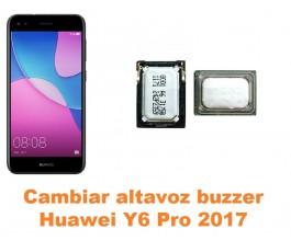 Cambiar altavoz buzzer Huawei Y6 Pro 2017