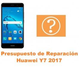 Presupuesto de reparación Huawei Y7 2017