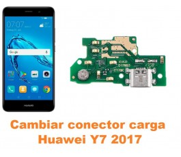 Cambiar conector carga Huawei Y7 2017