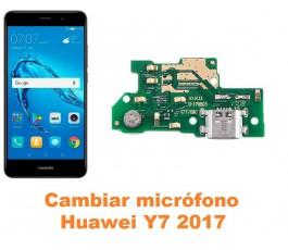 Cambiar micrófono Huawei Y7 2017