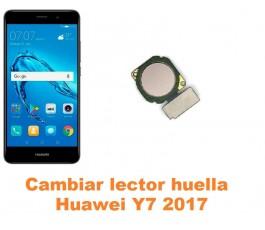 Cambiar lector huella Huawei Y7 2017