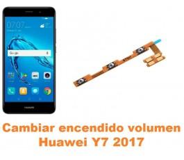Cambiar encendido y volumen Huawei Y7 2017