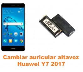 Cambiar auricular altavoz Huawei Y7 2017