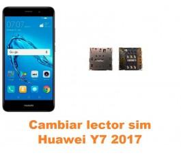 Cambiar lector sim Huawei Y7 2017