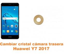 Cambiar cristal cámara trasera Huawei Y7 2017
