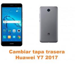 Cambiar tapa trasera Huawei Y7 2017