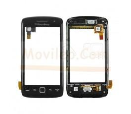 Pantalla Tactil Digitalizador Con Marco + Auricular + Joystick para BlackBerry 9850 9860 - Imagen 1