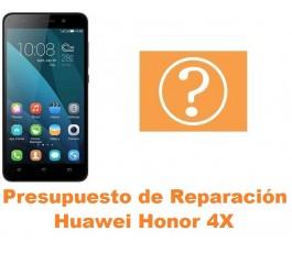 Presupuesto de reparación Huawei Honor 4X