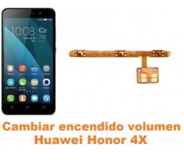 Cambiar encendido y volumen Huawei Honor 4X