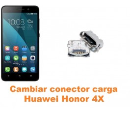 Cambiar conector carga Huawei Honor 4X