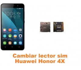 Cambiar lector sim Huawei Honor 4X