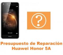 Presupuesto de reparación Huawei Honor 5A