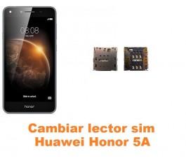 Cambiar lector sim Huawei Honor 5A