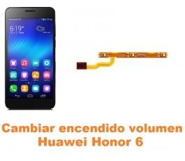 Cambiar encendido y volumen Huawei Honor 6