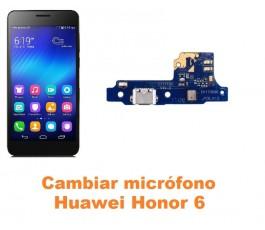 Cambiar micrófono Huawei Honor 6