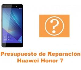 Presupuesto de reparación Huawei Honor 7