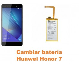 Cambiar batería Huawei Honor 7