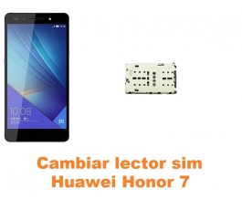 Cambiar lector sim Huawei Honor 7