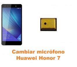 Cambiar micrófono Huawei Honor 7