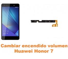 Cambiar encendido y volumen Huawei Honor 7
