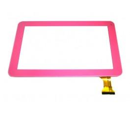 Pantalla táctil con marco para Qilive M9526L rosa original