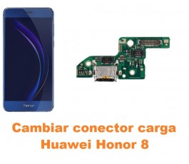 Cambiar conector carga Huawei Honor 8