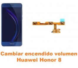 Cambiar encendido y volumen Huawei Honor 8
