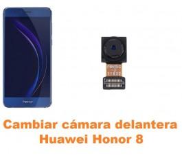 Cambiar cámara delantera Huawei Honor 8
