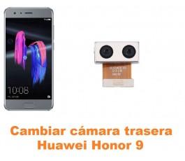 Cambiar cámara trasera Huawei Honor 9