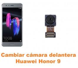 Cambiar cámara delantera Huawei Honor 9