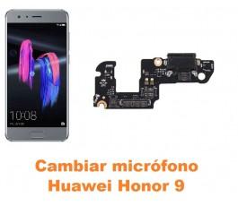 Cambiar micrófono Huawei Honor 9