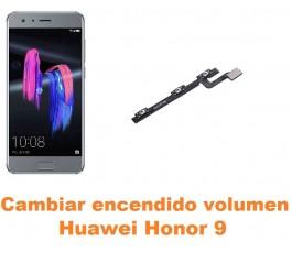 Cambiar encendido y volumen Huawei Honor 9