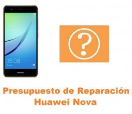 Presupuesto de reparación Huawei Nova
