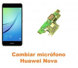 Cambiar micrófono Huawei Nova