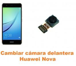 Cambiar cámara delantera Huawei Nova