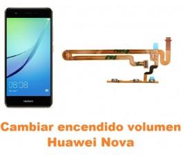 Cambiar encendido y volumen Huawei Nova