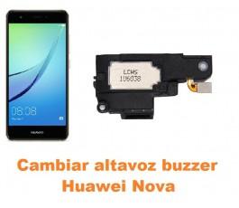Cambiar altavoz buzzer Huawei Nova