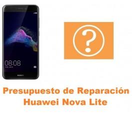 Presupuesto de reparación Huawei Nova Lite
