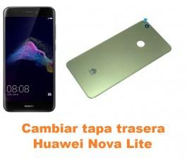Cambiar tapa trasera Huawei Nova Lite