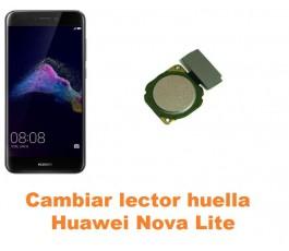 Cambiar lector huella Huawei Nova Lite
