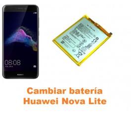 Cambiar batería Huawei Nova Lite