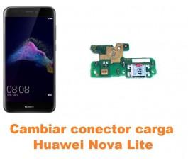 Cambiar conector carga Huawei Nova Lite